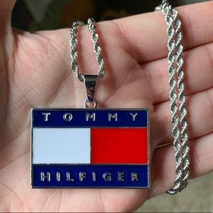 Other - Silver Tommy Hilfiger Pendant